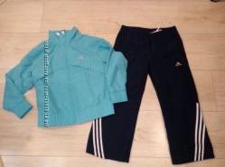 Спортивный костюм для девочки  ADIDAS оригинал р. 110см
