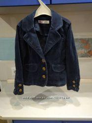 Стильный велюровый пиджак для маленькой модницы р. 110 Reserved