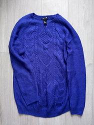 Красивый лёгкий и тёплый свитер для беременной