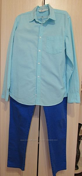 Рубашка  H&M 158р.