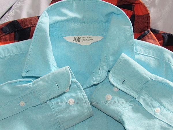 Рубашки  H&M  164р.
