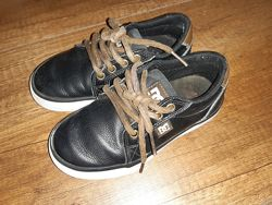 Детские кожанные кеды DC shoes