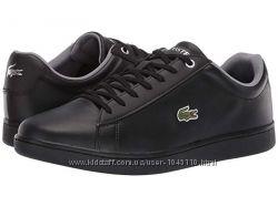 Оригинальные кожаные кроссовки lacoste из США