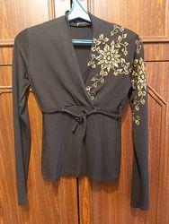 Кофточка, блуза с длинным рукавом, М, 44