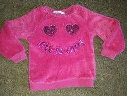 Плюшевая кофта, джемпер, свитер H&M 2-4 лет, 98-104 см