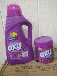 Пятновыводитель  OXY для цветных вещей