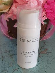 Плацентарный крем от морщин для лица Demax