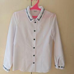 Школьная блузка, р. 134