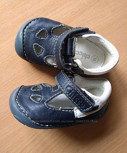 Кожаные сандалии босоножки CHICCO Чикко в новом состоянии