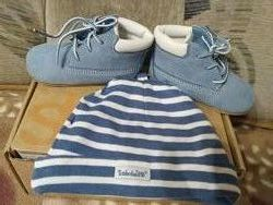 Замшевые ботинки с шапочкойTimberland 19 размер
