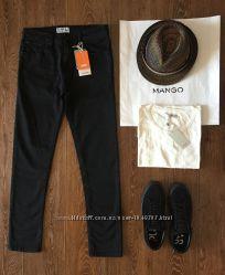 Новые черные джинсы Pull&Bear