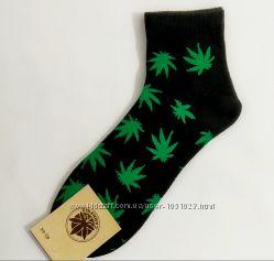 стильные носки - Канабис , Canabis размер  36-40