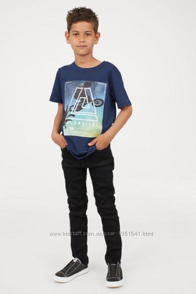 Чёрные джинсы skinny fit от h&m рост от  116 до 164 см