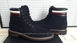 Tommy hilfiger оригинал кожаные ботинки 45 29. 5 см по ст