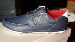 Lacoste оригинал кожаные новые кроссовки 46 Ст. 30. 5 см