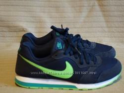 Легкие серо-синие комбинированные кроссовки Nike MD Runner 2 UK 5.