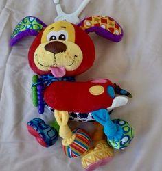 Подвесная игрушка Playgro собачка с прорезывателями