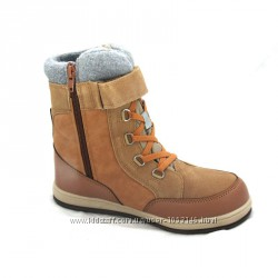 Термо ботинки бежевые B&G