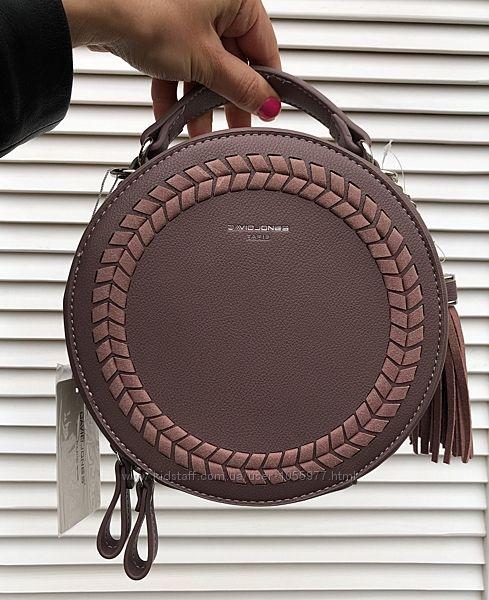 Модная суперклассная сумочка от David Jones, разные цвета