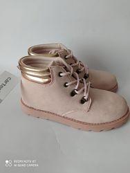 Новые демисезонные ботинки хайтопы Carters Картерс