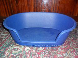 Пластиковый лежак, спальное место для собак Англия
