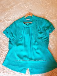 Нарядная блуза большой размер от Talbots р. l us 52-54
