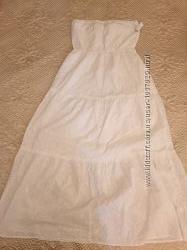 Летнее белое платье прошва большой размер от Old Navy  L US 50-52