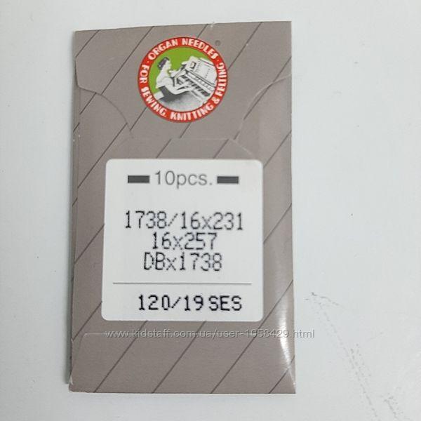 Иглы по коже промышленных швейных машин Groz-bekkert  34LL -80
