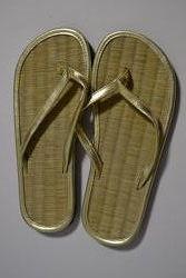 Вьетнамки цвет золото, плетеные, 35-36-37р