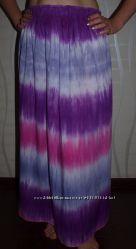 Легчайшая длинная юбка батист . Распродажа.