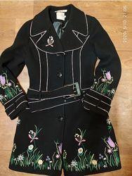 Роскошное фирменное пальто. depeche mode. размер 44.