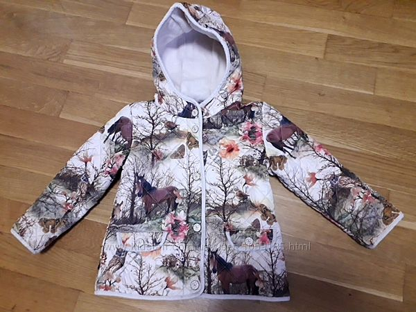 Next курточка з кониками
