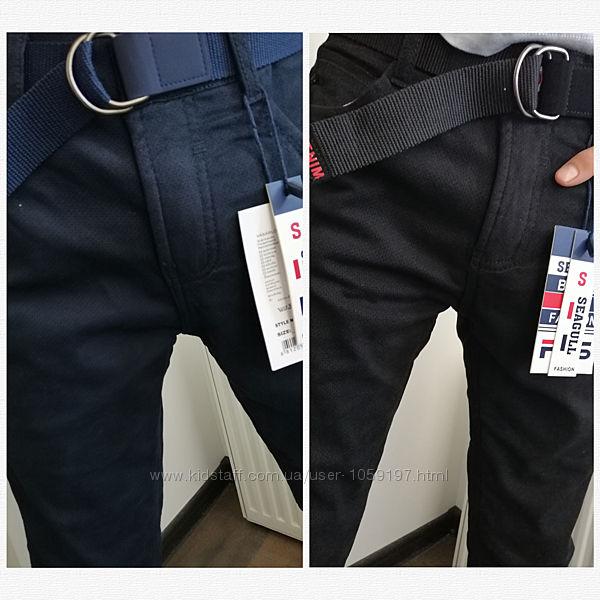 82049 Котоновые брюки флис 134-164