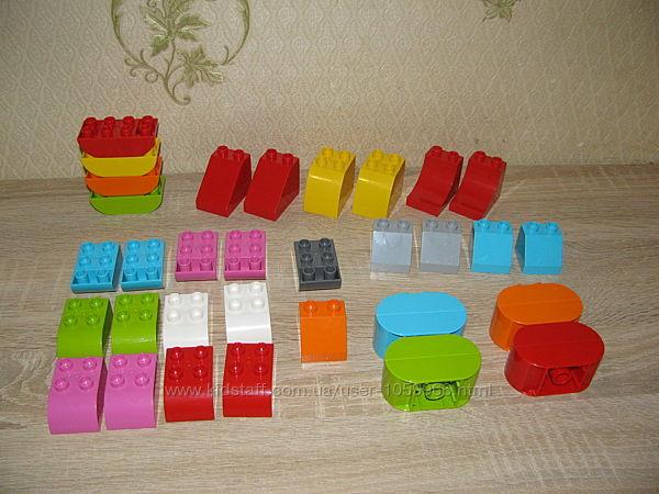 Кубики-скосы Lego duplo,  новые