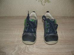 Ботинки деми кожаные Ecco для мальчика р. 22, бу