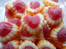 Желейные конфеты Сердце с наполнителем. Jake, Испания