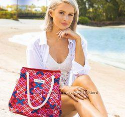 кларанс clarins пляжная  сумка