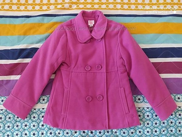 Демисезонное пальто на синтепоне Chicco размер 128.
