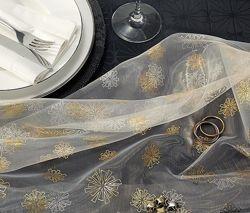 Декоративная скатерть из органзы от tcm tchibo, германия