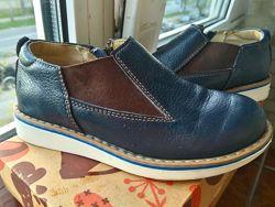 Кожаные туфли на мальчика 27 размер