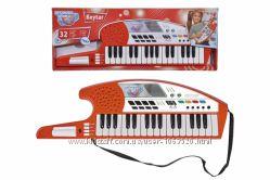 Музыкальный инструмент Клавишная гитара, 32 клавиши, 19 демо мелодий, 4 инстр.