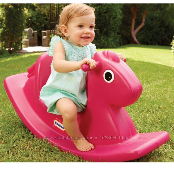 Качалка - Веселая Лошадка розовая Little Tikes 403C00060