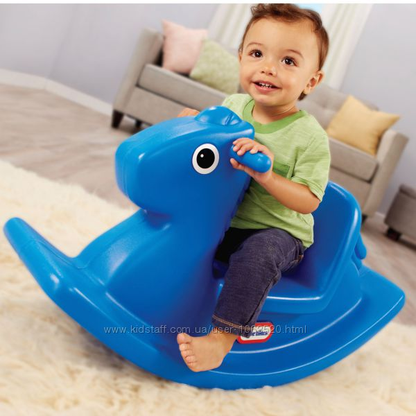 Качалка - Веселая Лошадка синяя Little Tikes 427900072