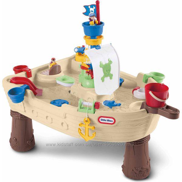 Игровой столик - Пиратский Корабль для игры с водой Little Tikes 628566E3