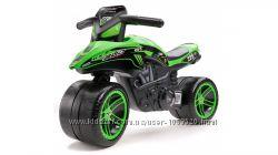 Беговел Mото Kawasaki KX BUD Racing FALK 502KX цвет- зеленый