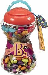Набор для изготовления украшений Поп-Арт 300 деталей Battat Pop Snap Bead