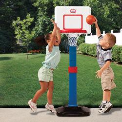 Баскетбол Little Tikes cкладной, регулируемая высота до 120 см