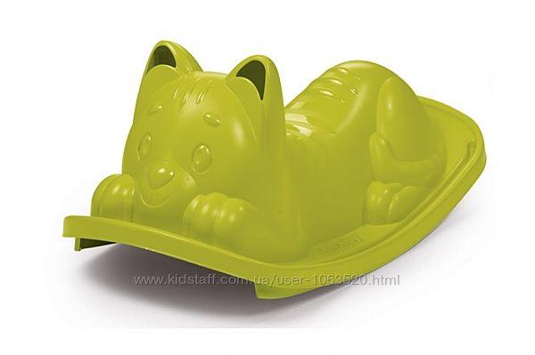 Качалка Smoby Зеленый кот,18 мес. , 830104