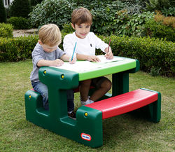Игровой столик для пикника - Яркие цвета Джуниор Little Tikes зеленый