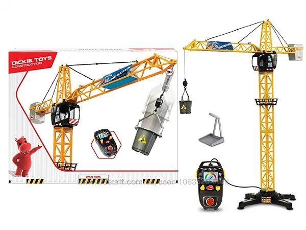 Детский башенный кран Dickie Toys на дистанционном управлении 100 см 3